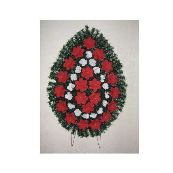 Coroana artificiala (alb, rosu) servicii funerare non stop bucuresti ilfov adysim