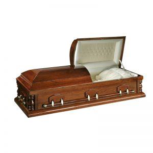 sicriu model Boston 2 capace stejar servicii funerare non stop bucuresti ilfov adysim